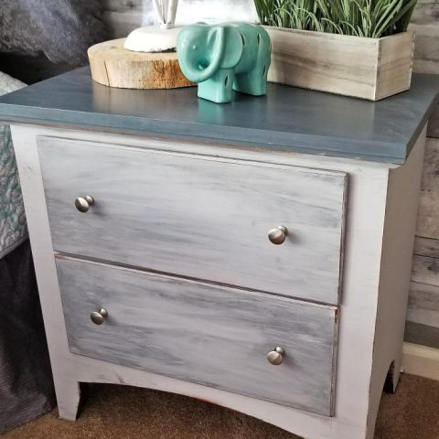 grey chalk paint furniture