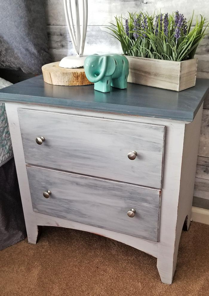 grey chalk paint furniture