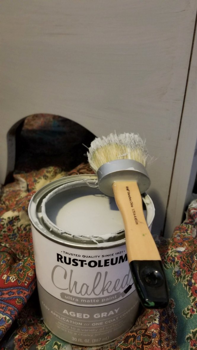 how to paint with chalk paints
