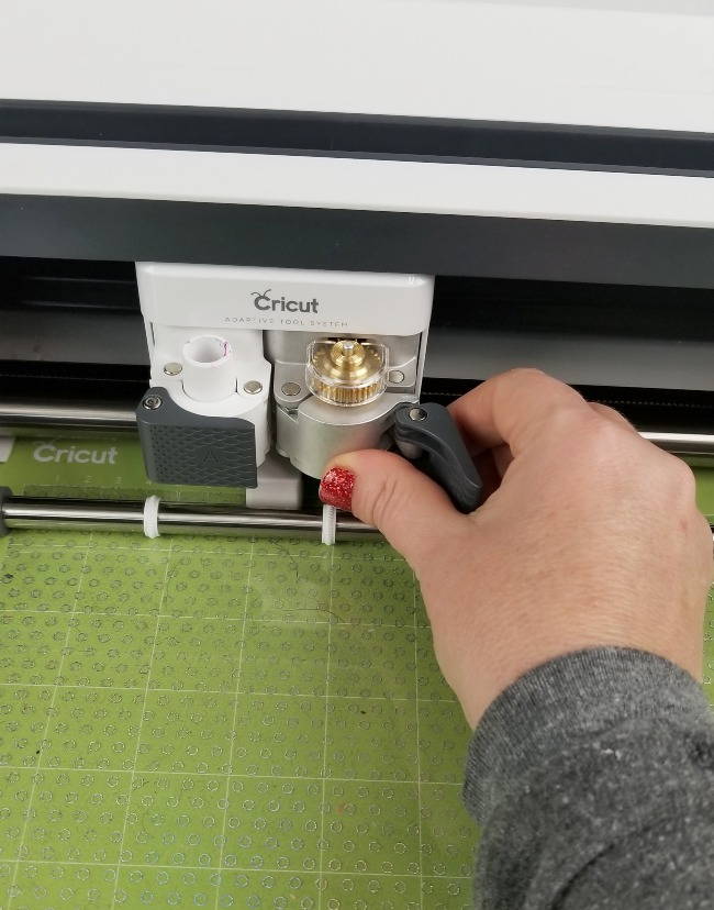 scoring cricut foil acetate