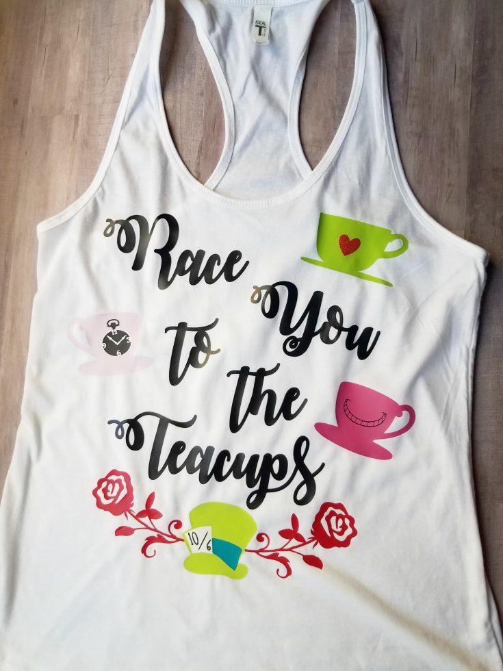 DIY Disney Race You To The Teacups Tank