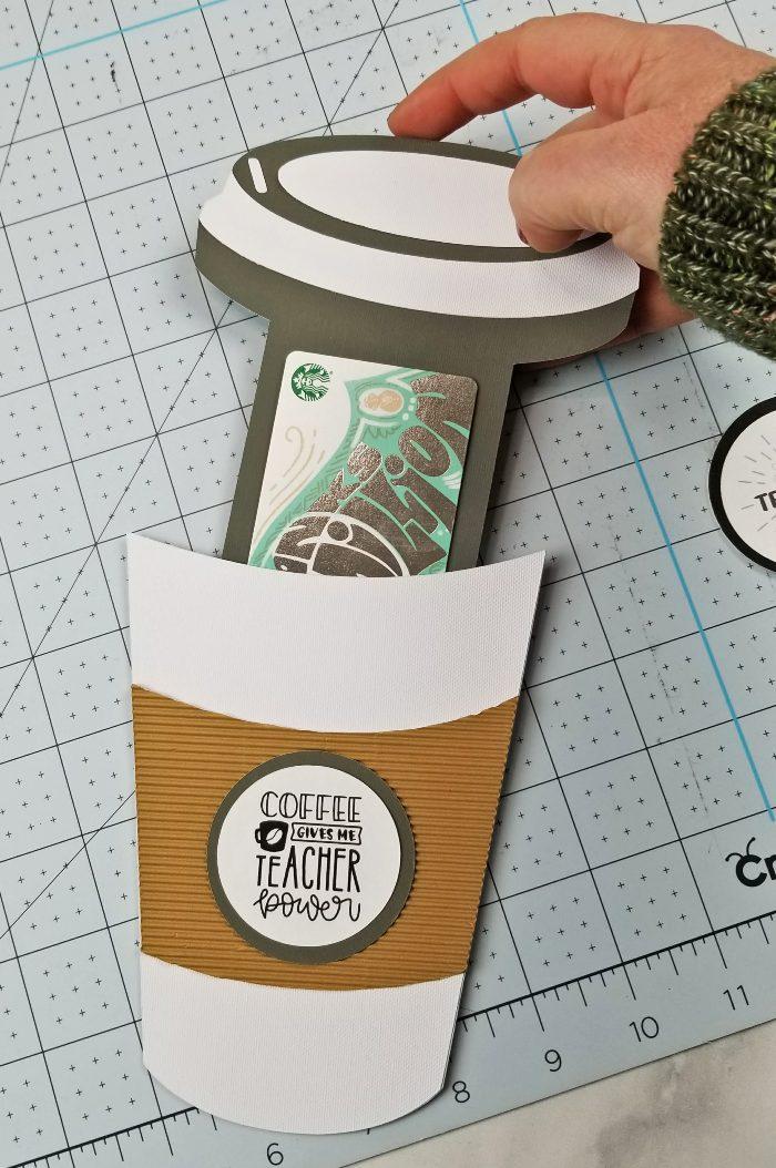 coffee cup cricut svg file