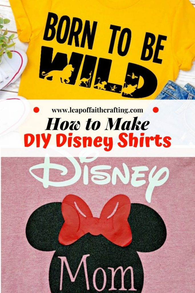 Free Disney Svg Files Plus How To Make Personalized Disney Shirts For Cheap Leap Of Faith Crafting