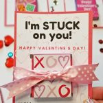 school valentine cards stickers