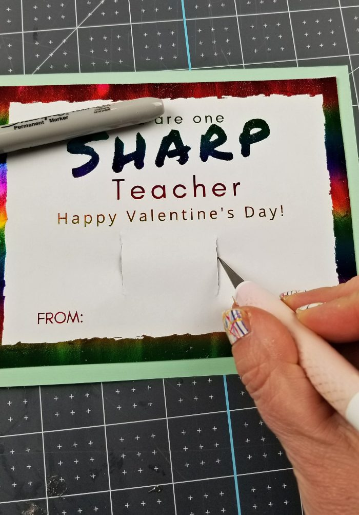 teacher valentines gifts sharpie