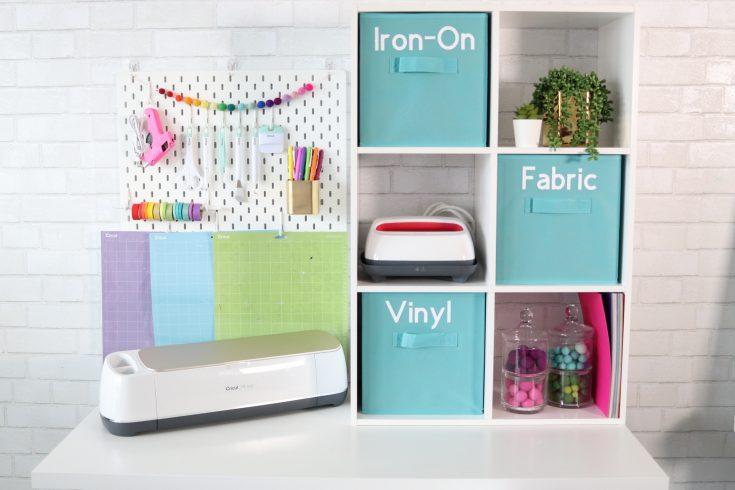 Create A Cricut Craft Room On A Budget   EasyPress 2