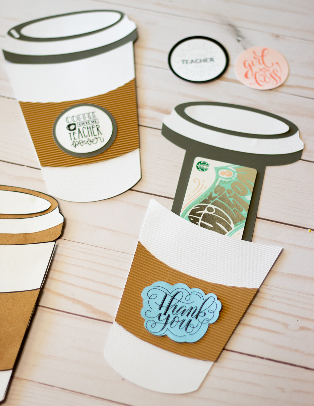 Teacher Gifts Archives - Leap of Faith Crafting In Thanks A Latte Card Template