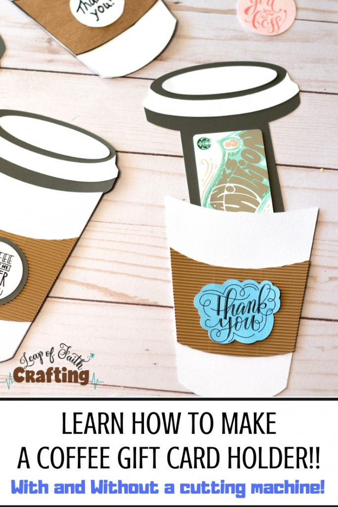 diy coffee cup gift card holder pinterest