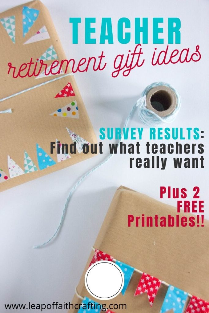 teacher retirement gift ideas pinterest