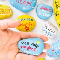 Kindness Rocks Project with Kids! - Tried & True Creative