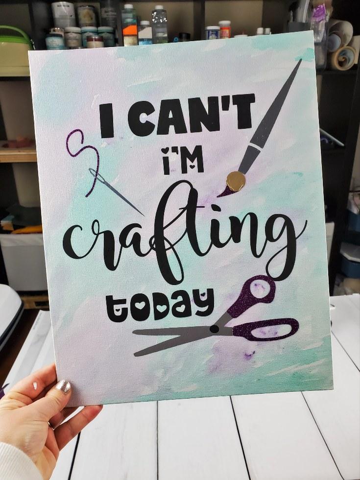 craft room sig