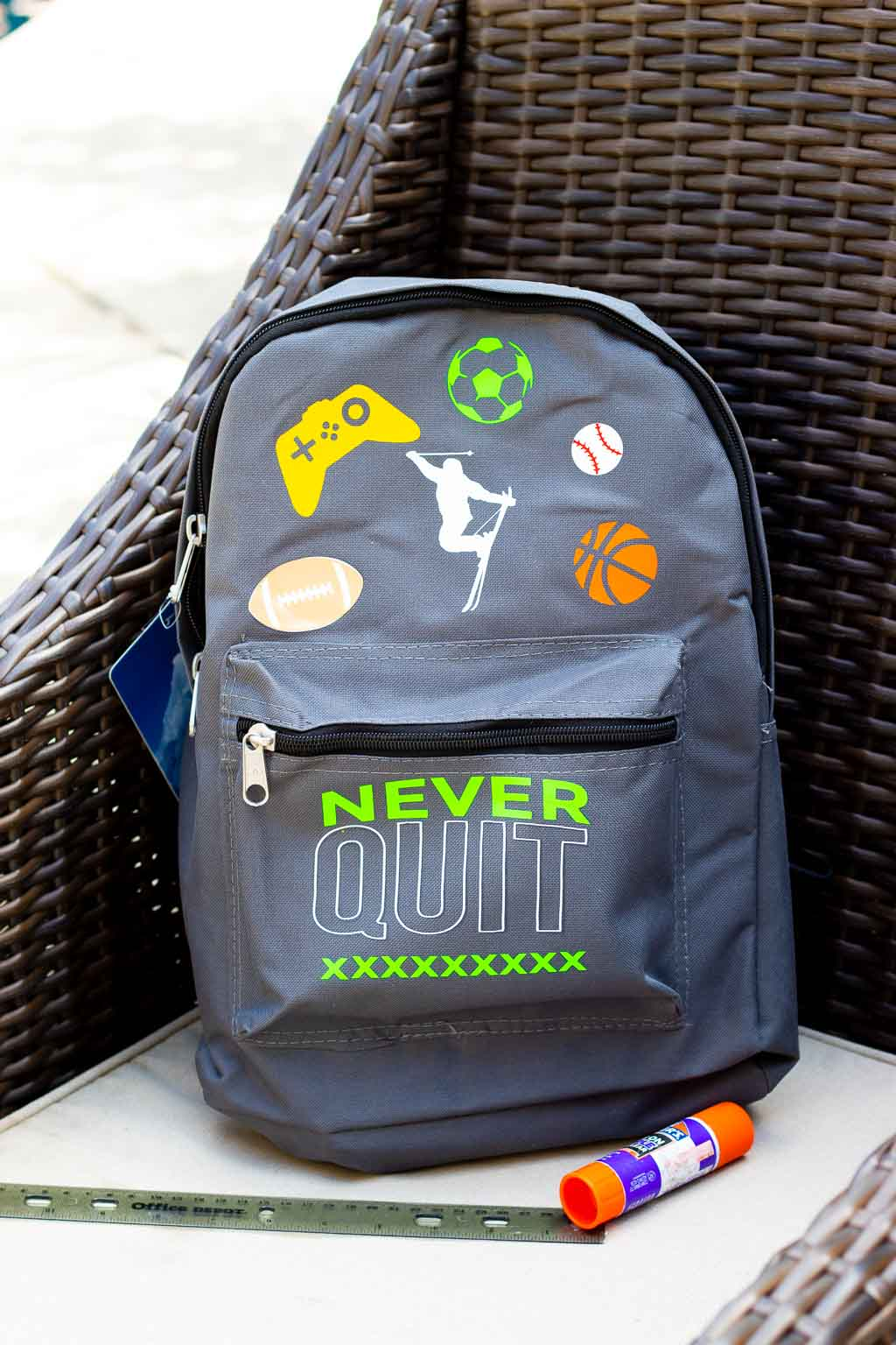 cricut backpack diy