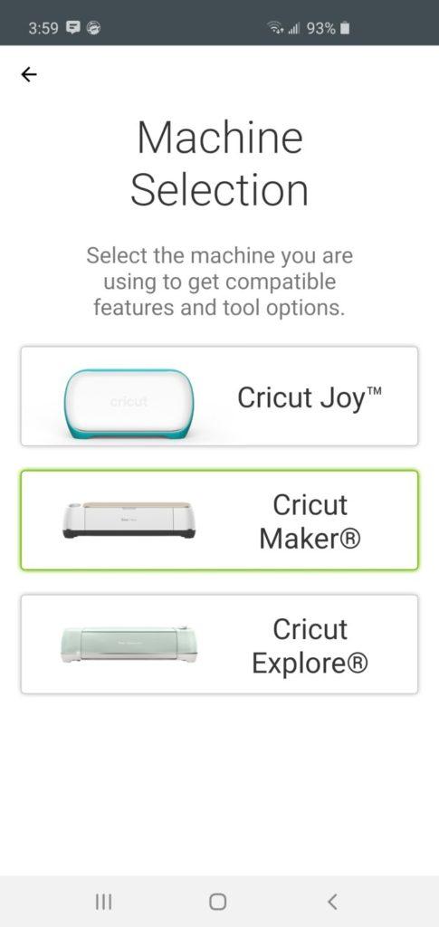 cricut joy app smartphone