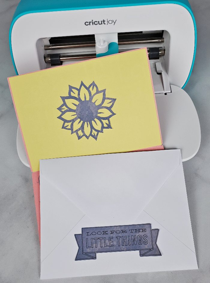 cricut joy how to stickers