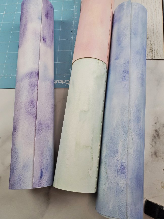 infusible ink watercolor sheets