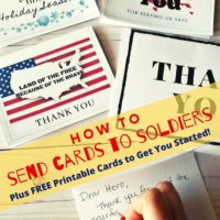 Making Cards for Soldiers: All You Need to Know!