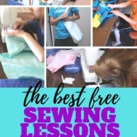 Teaching Children and Teens to Sew