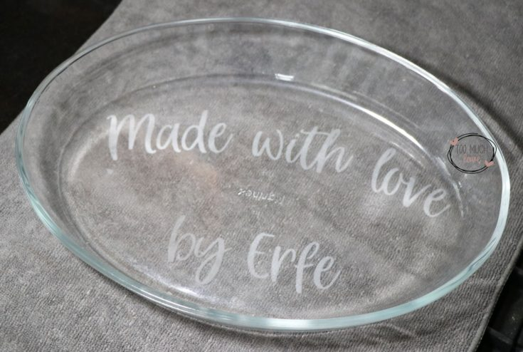 How To Do Glass Etching on Bakeware