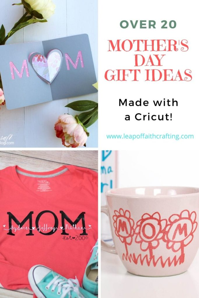 cricut gifts for mom pinterest