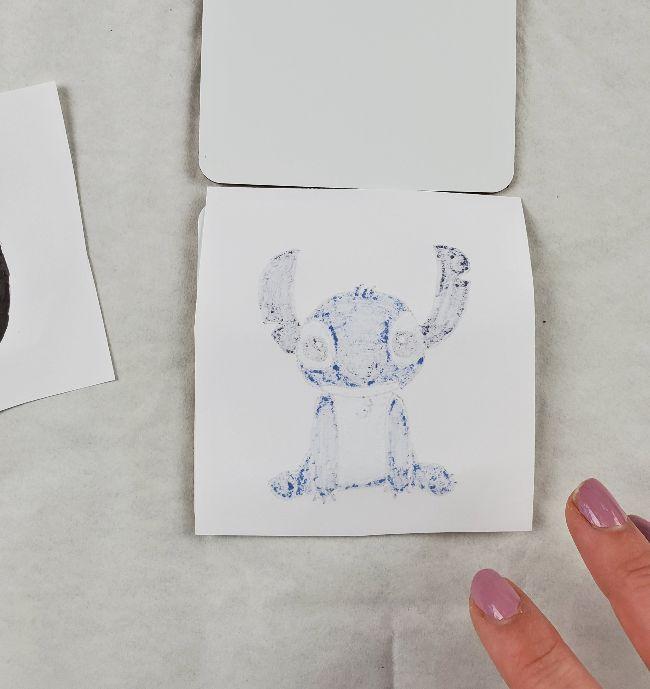 infusible ink cricut coaster idea