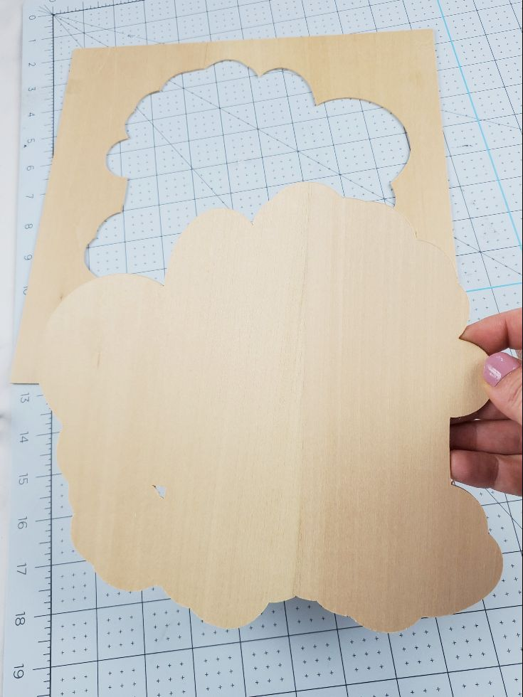 cricut wood cutting
