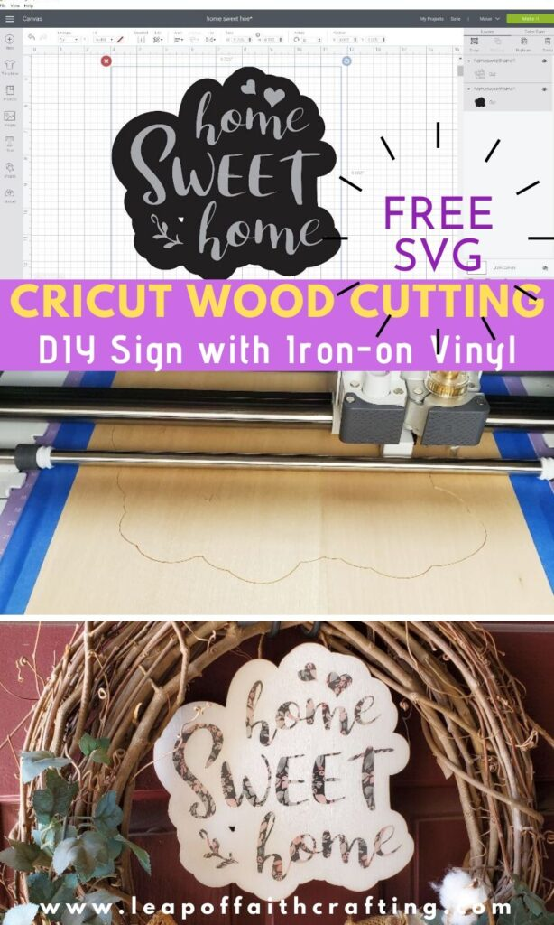 cricut wood cutting pinterest