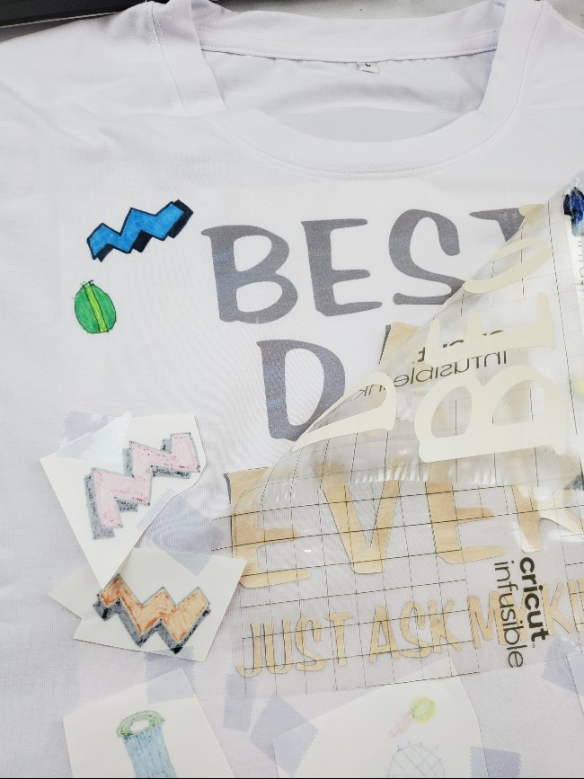 fathers day shirt diy