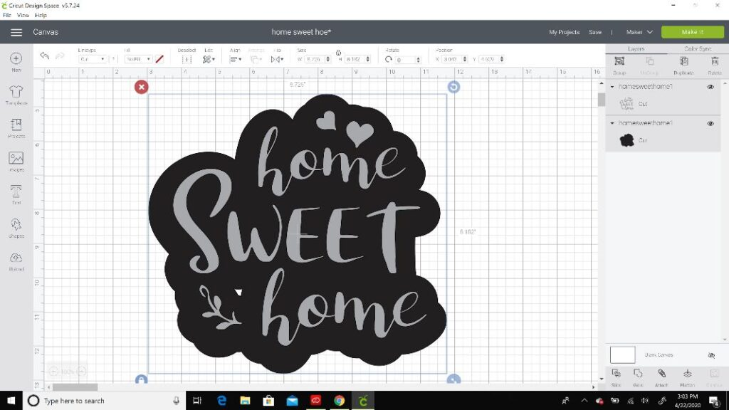 home sweet home svg files