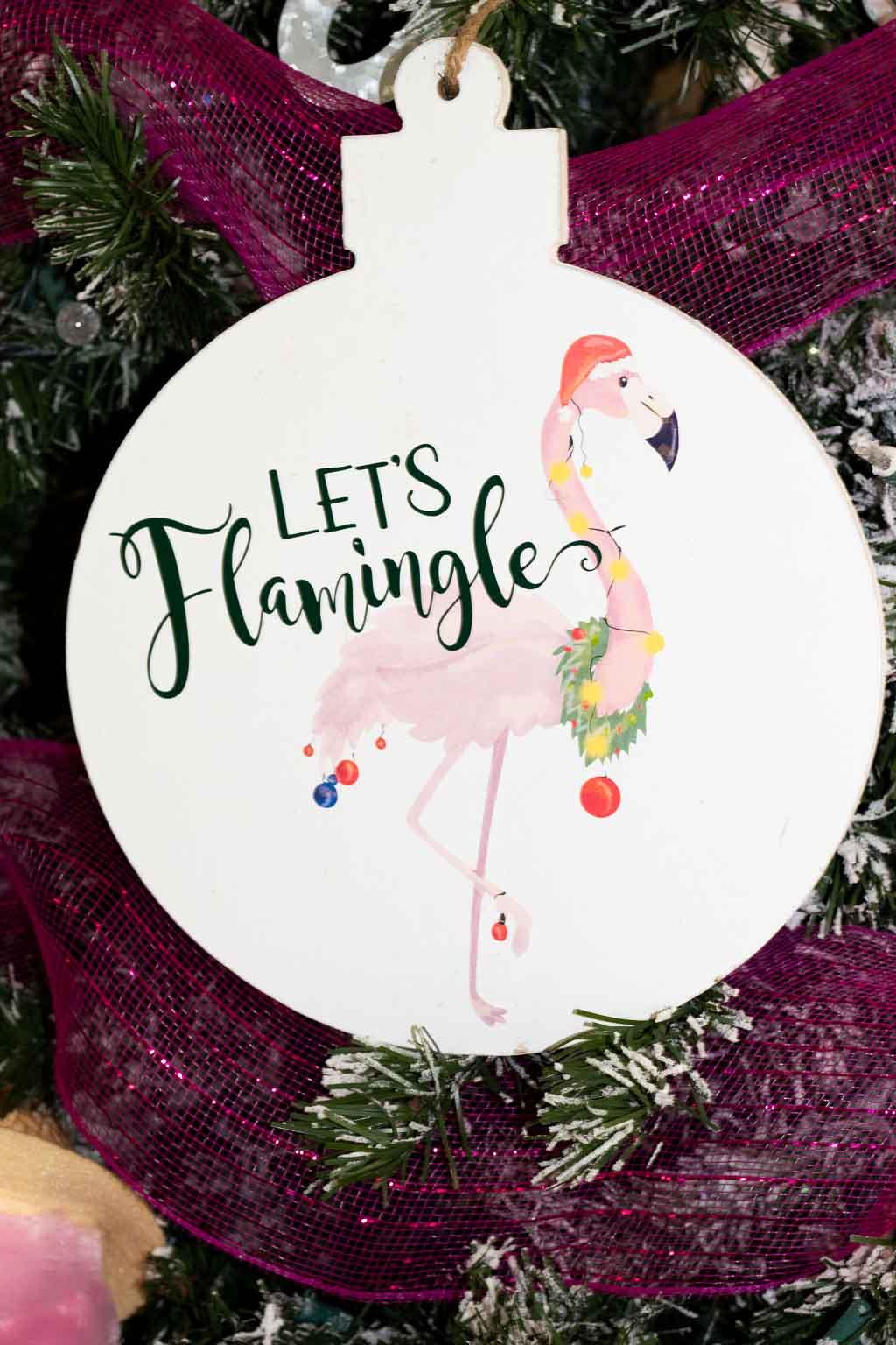 let's flamingle svg free