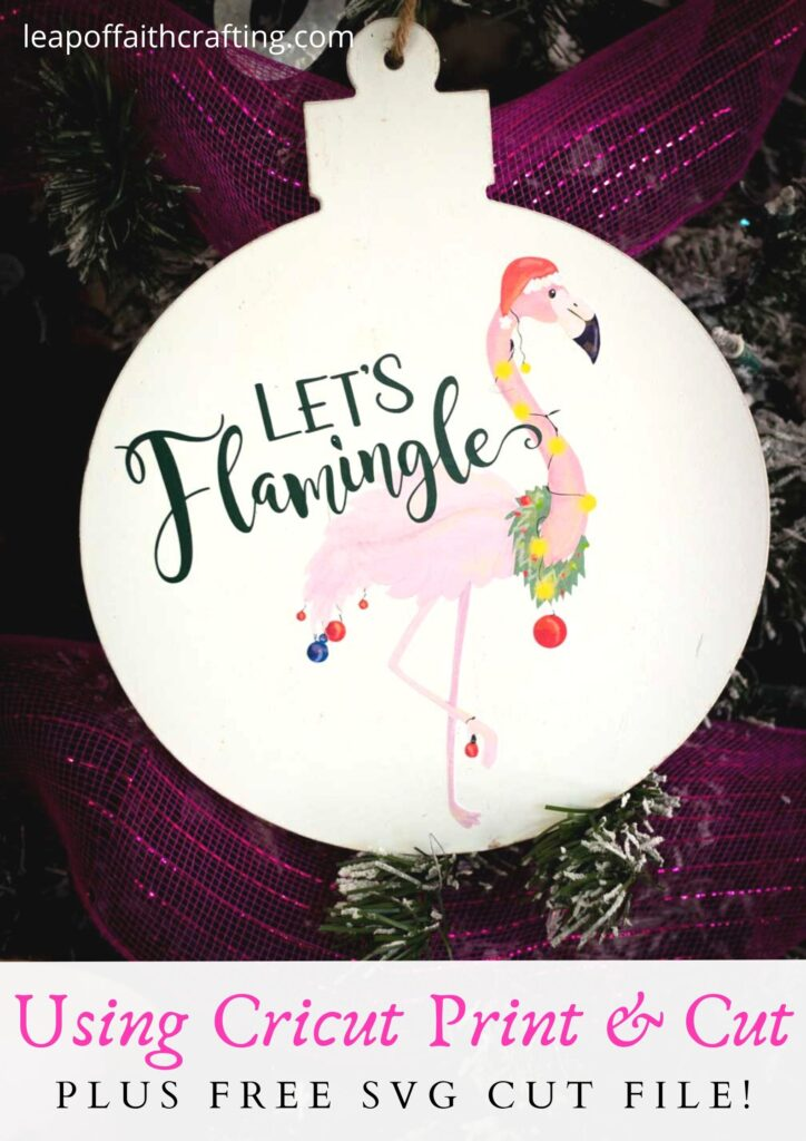lets flamingle ornament pinterest