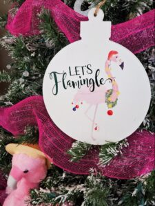 lets flamingle party svg
