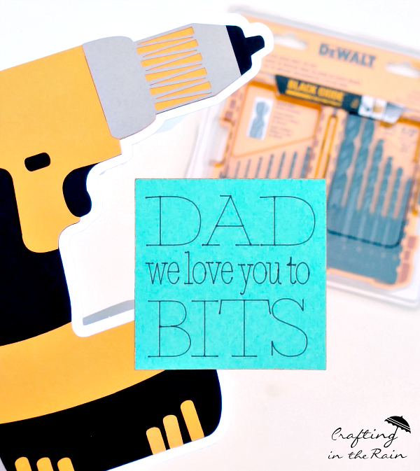 Father's Day Drill Card