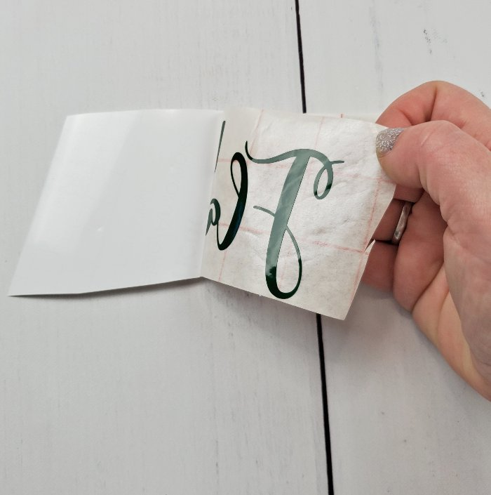 using transfer tape
