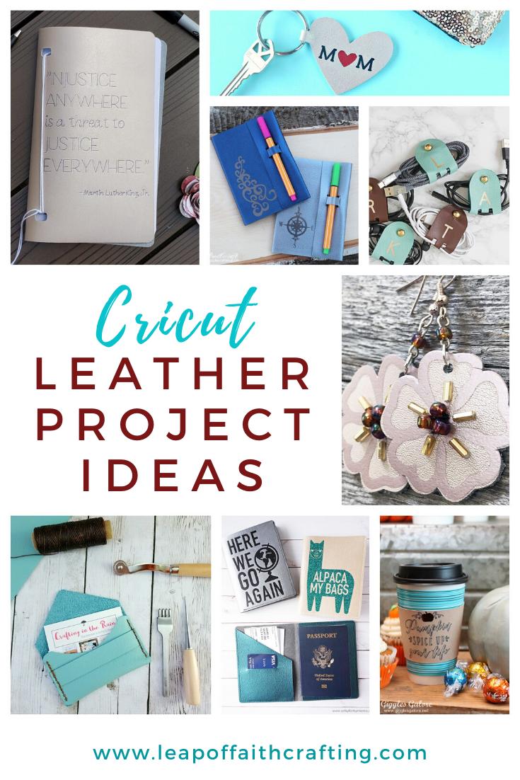 cricut leather projects pinterest
