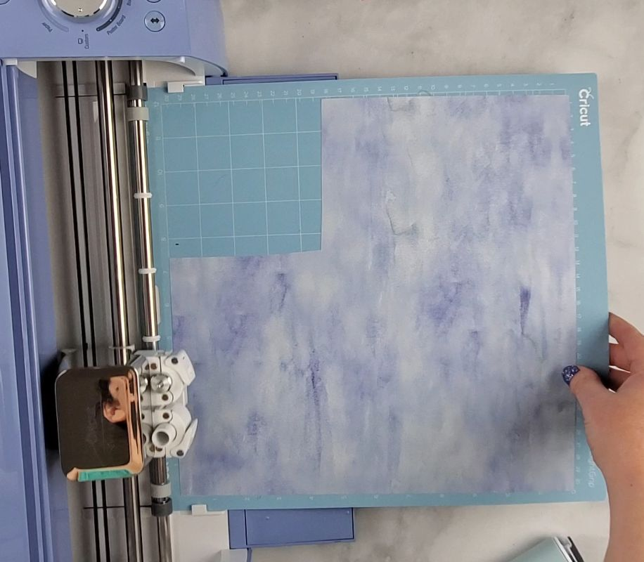 cutting infusible ink sheet