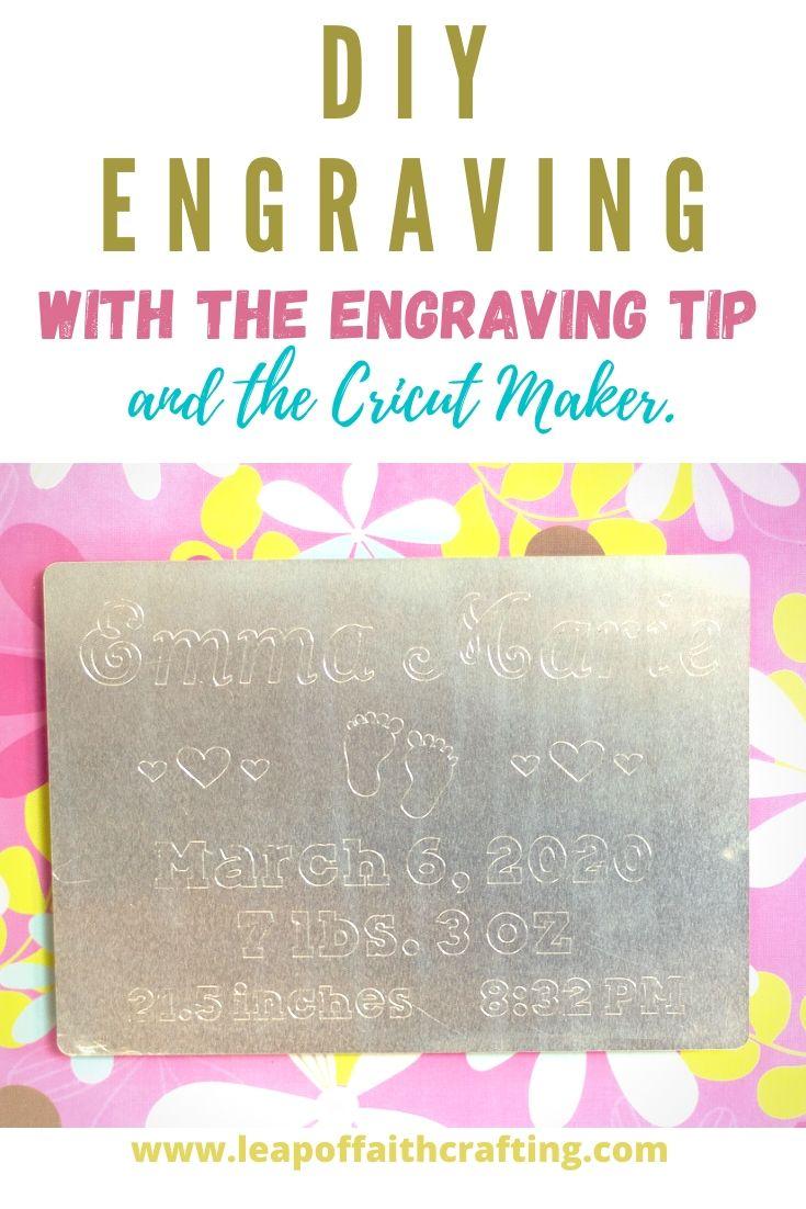 diy engraving cricut