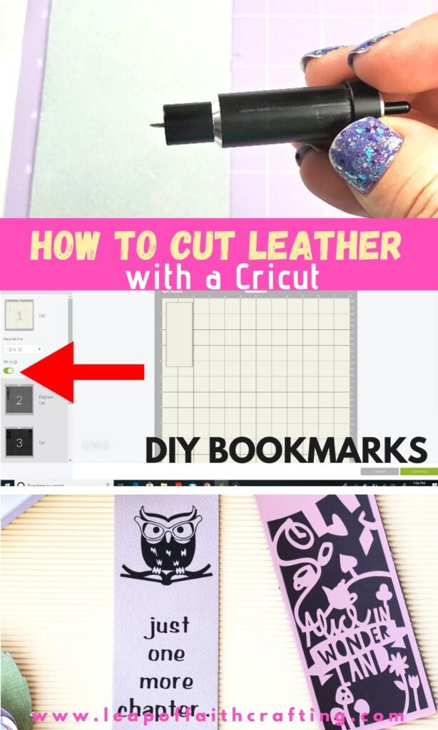 diy leather bookmarks pinterest