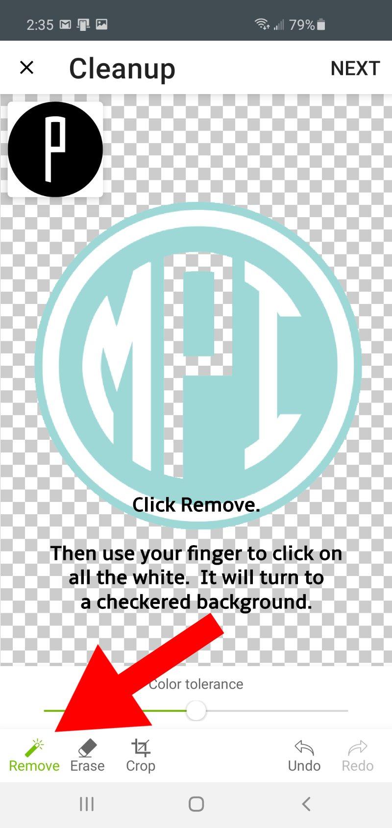 cds remove screen