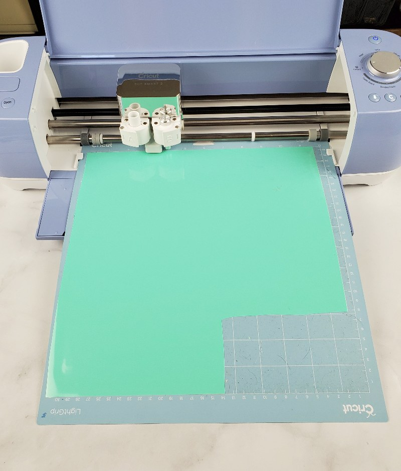 making stencil for etching cricut