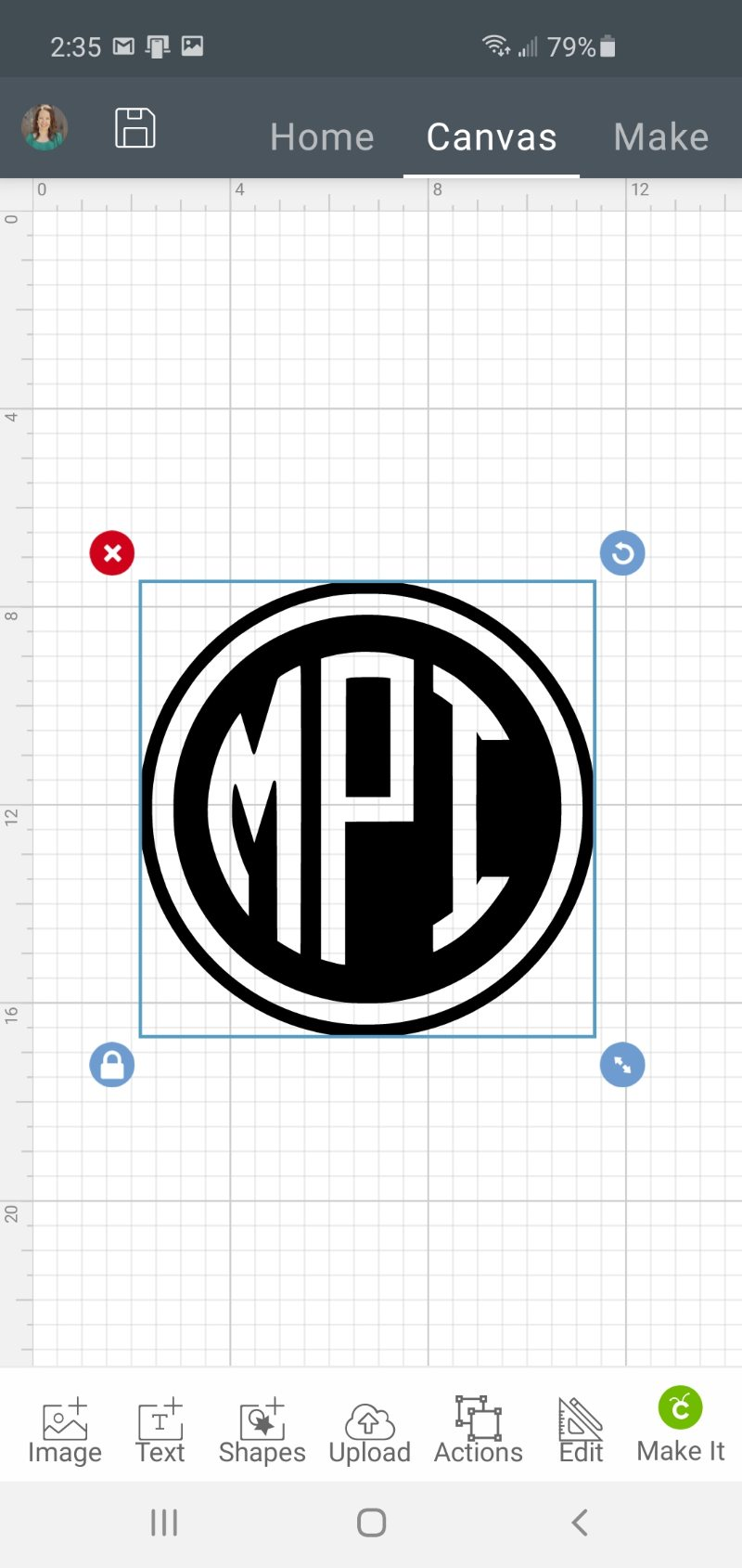 monogram in cds