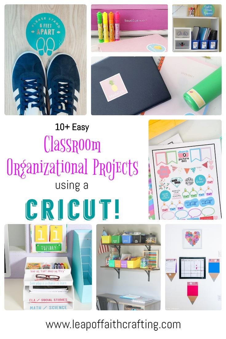 cricut classroom ideas pinterest