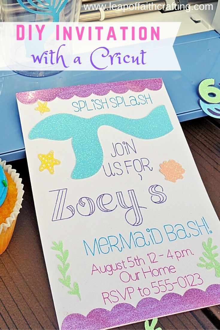 cricut invitations pinterest