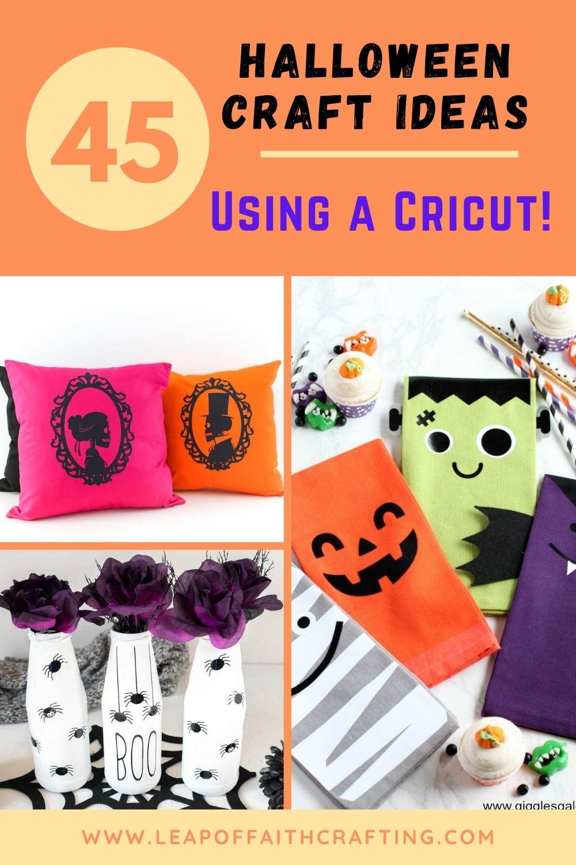 halloween cricut ideas pinterest