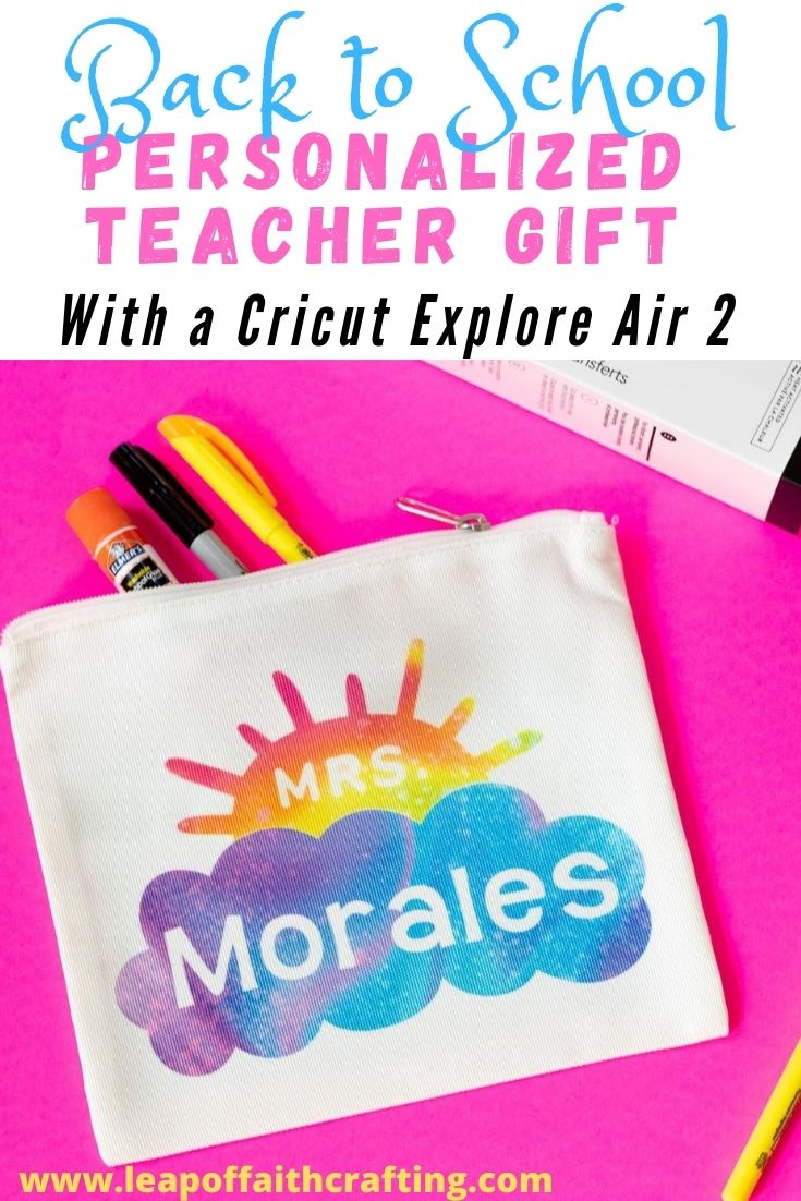teacher gift cricut