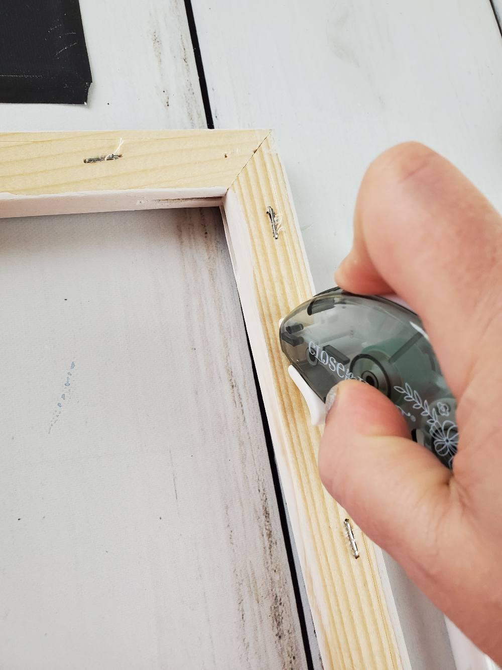 canvas art tape