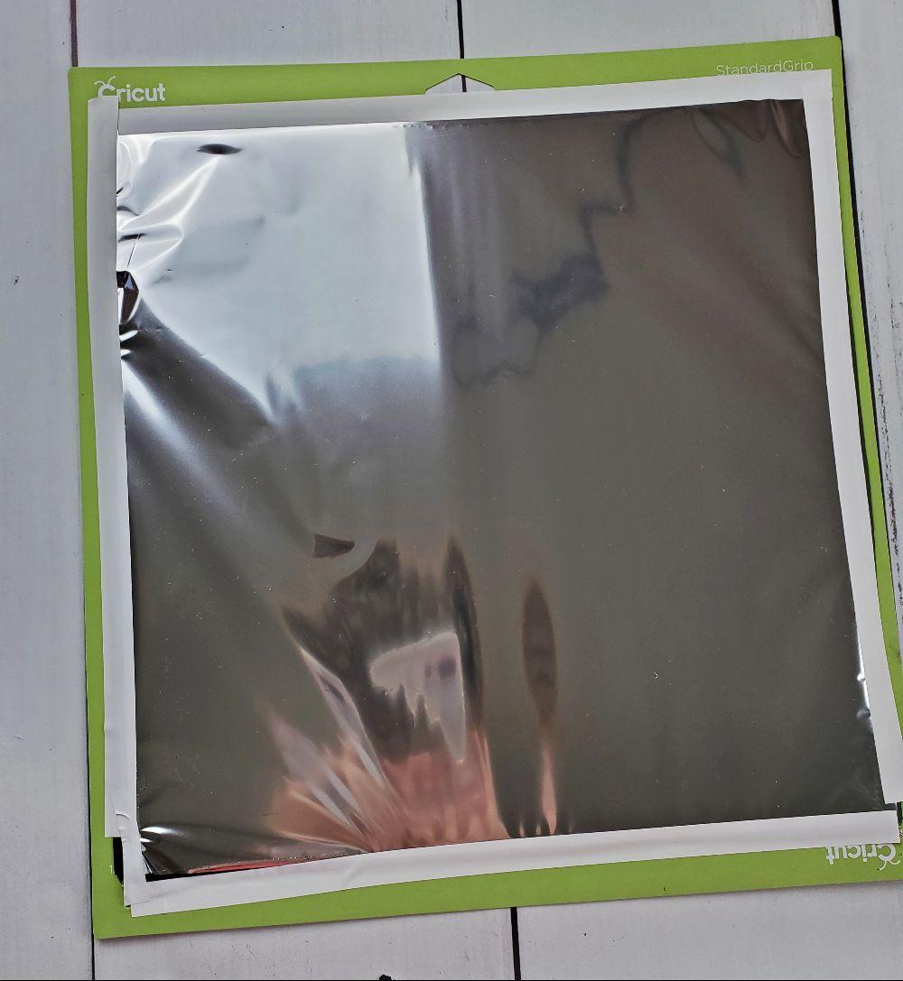 cricut foiling canvas