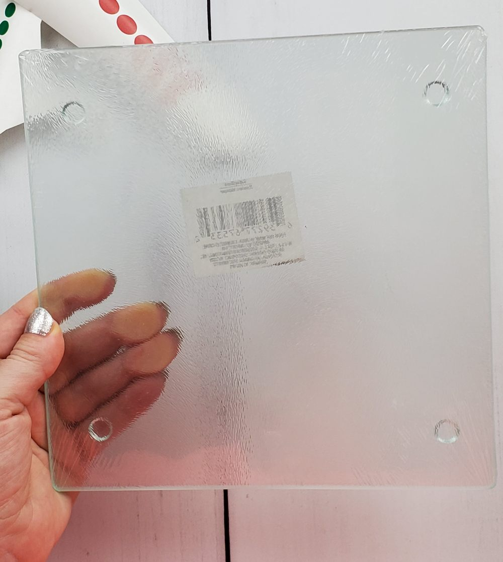 dollar tree glass cutting board
