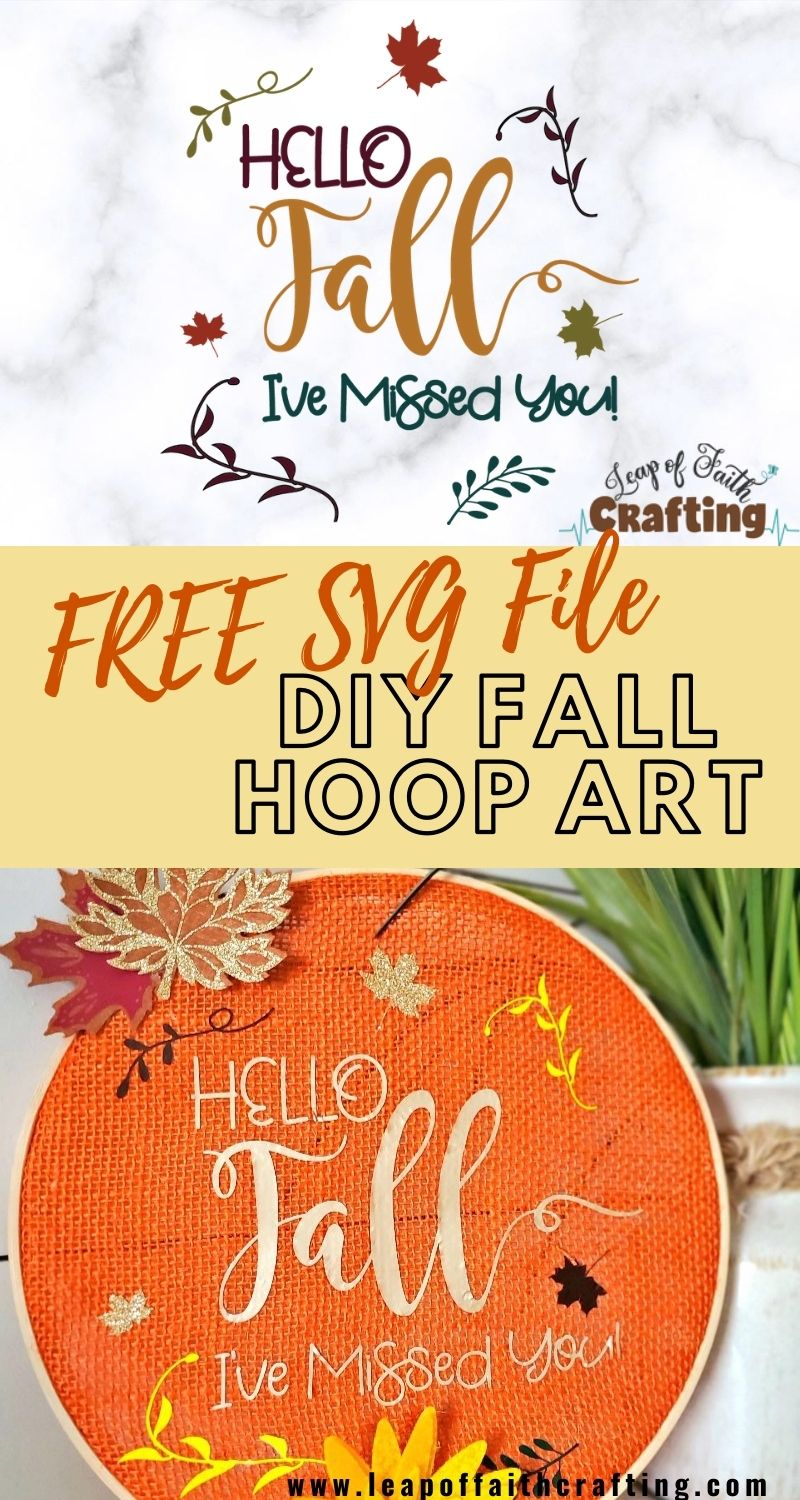 free hello fall svg file