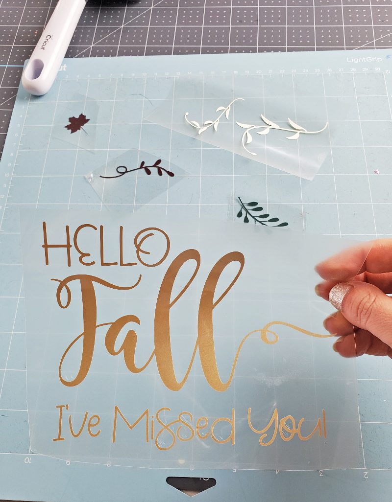 hello fall svg free