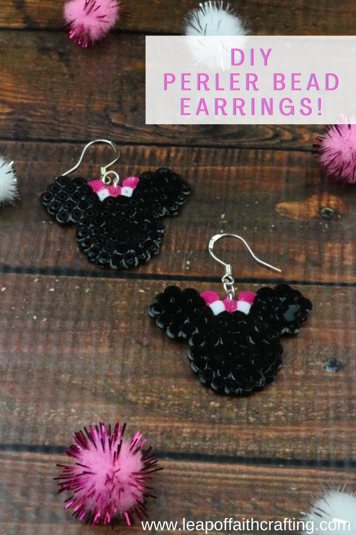 perlear bead earrings pinterest
